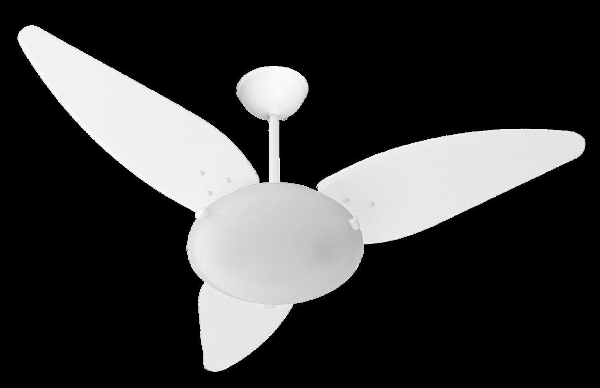 Ventilador De Teto Magnes 3 Pás De Mdf Branco 220V
