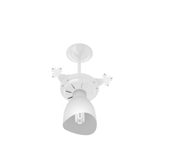 Ventilador de Teto New Cristal Light Br/Tr 110V+Controle R.