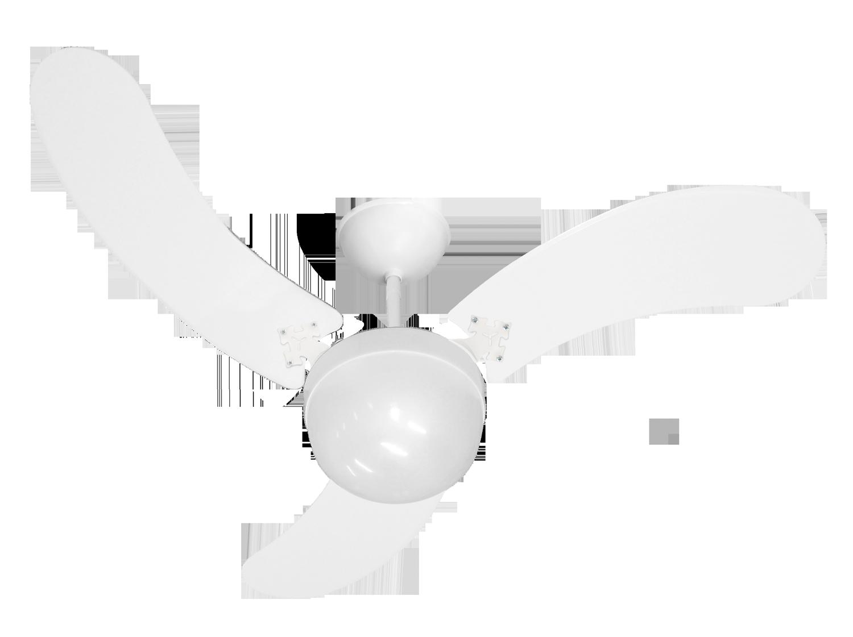 Ventilador de Teto New Montana 3 Pás Branco 110V
