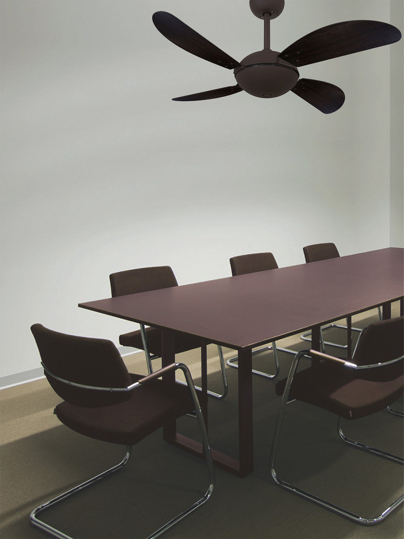 Ventilador de Teto Office Fly Marrom/Tb 220V+Controle remoto