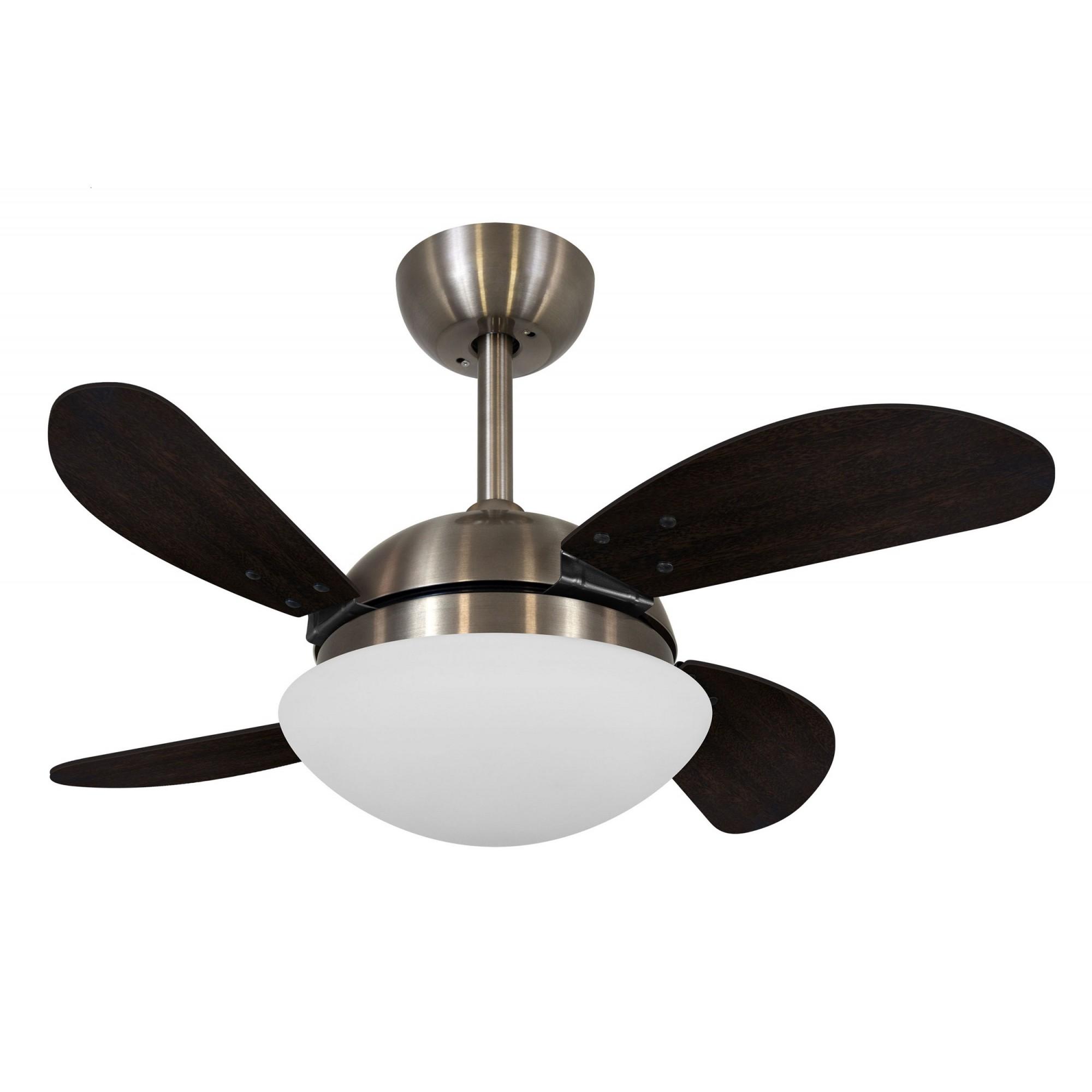 Ventilador de Teto VD28 Mini Fly Bronze/Tb 220V+Controle R.