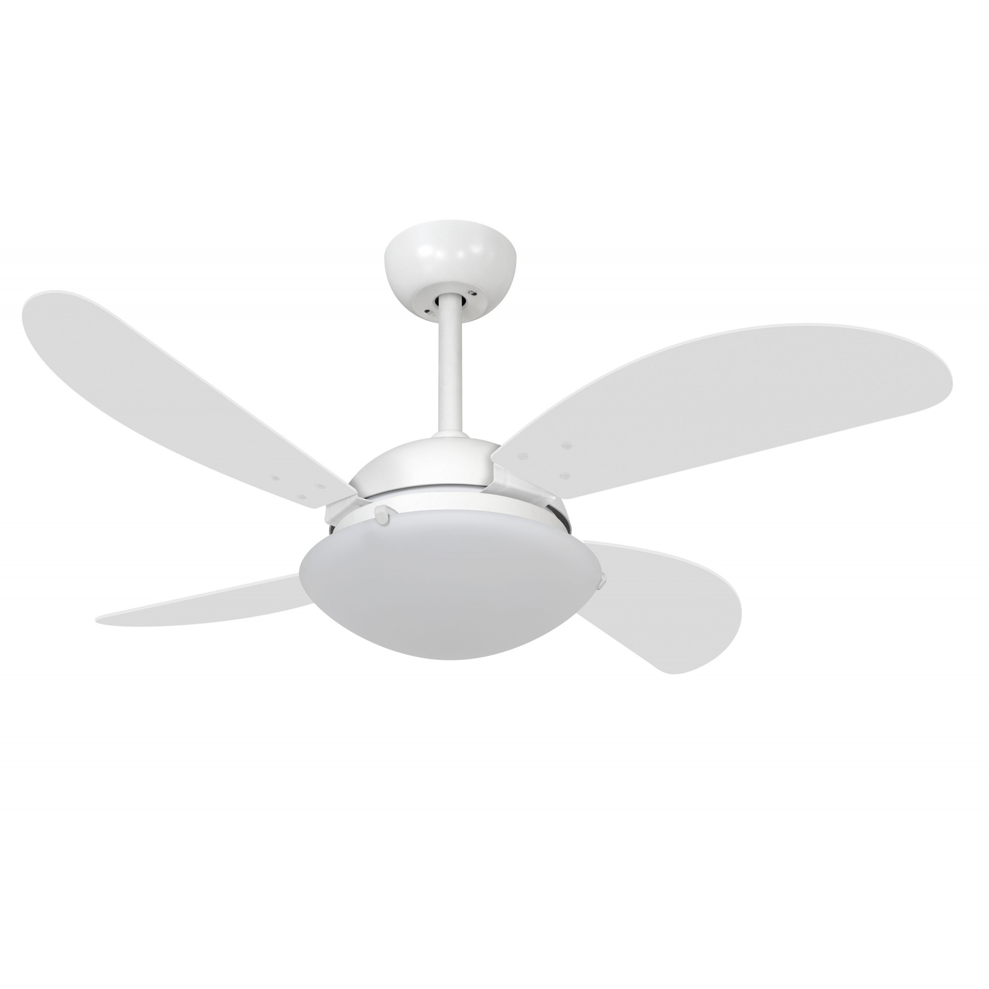 Ventilador de Teto VD300 Fly Branco 4 Pás MDF 110V