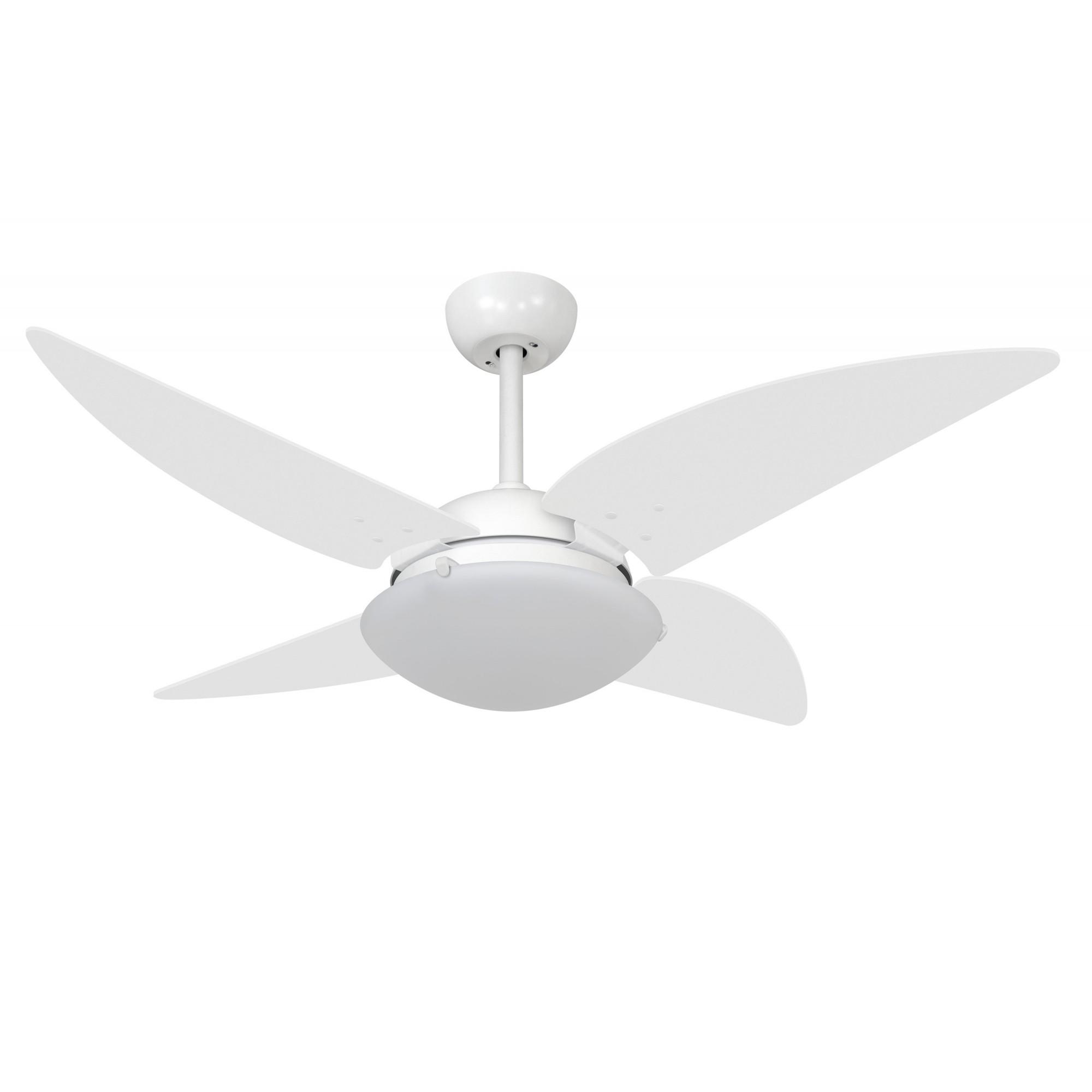 Ventilador de Teto VD300 Quad Branco 220V+Controle Remoto