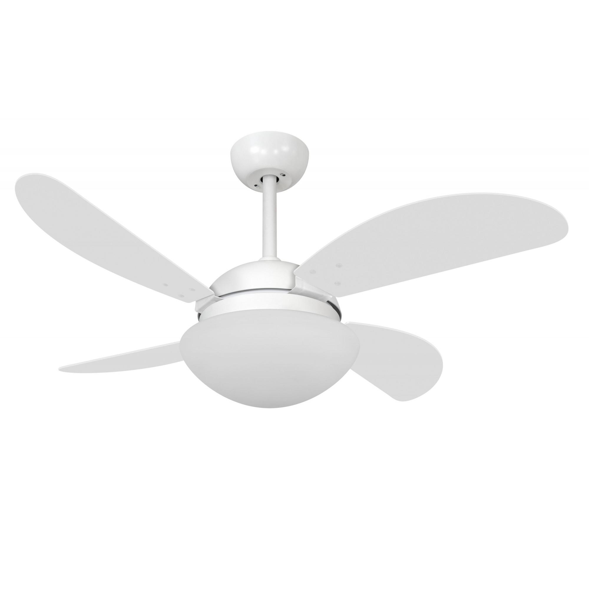 Ventilador de Teto VD42 Fly Branco 4 Pás MDF 220V