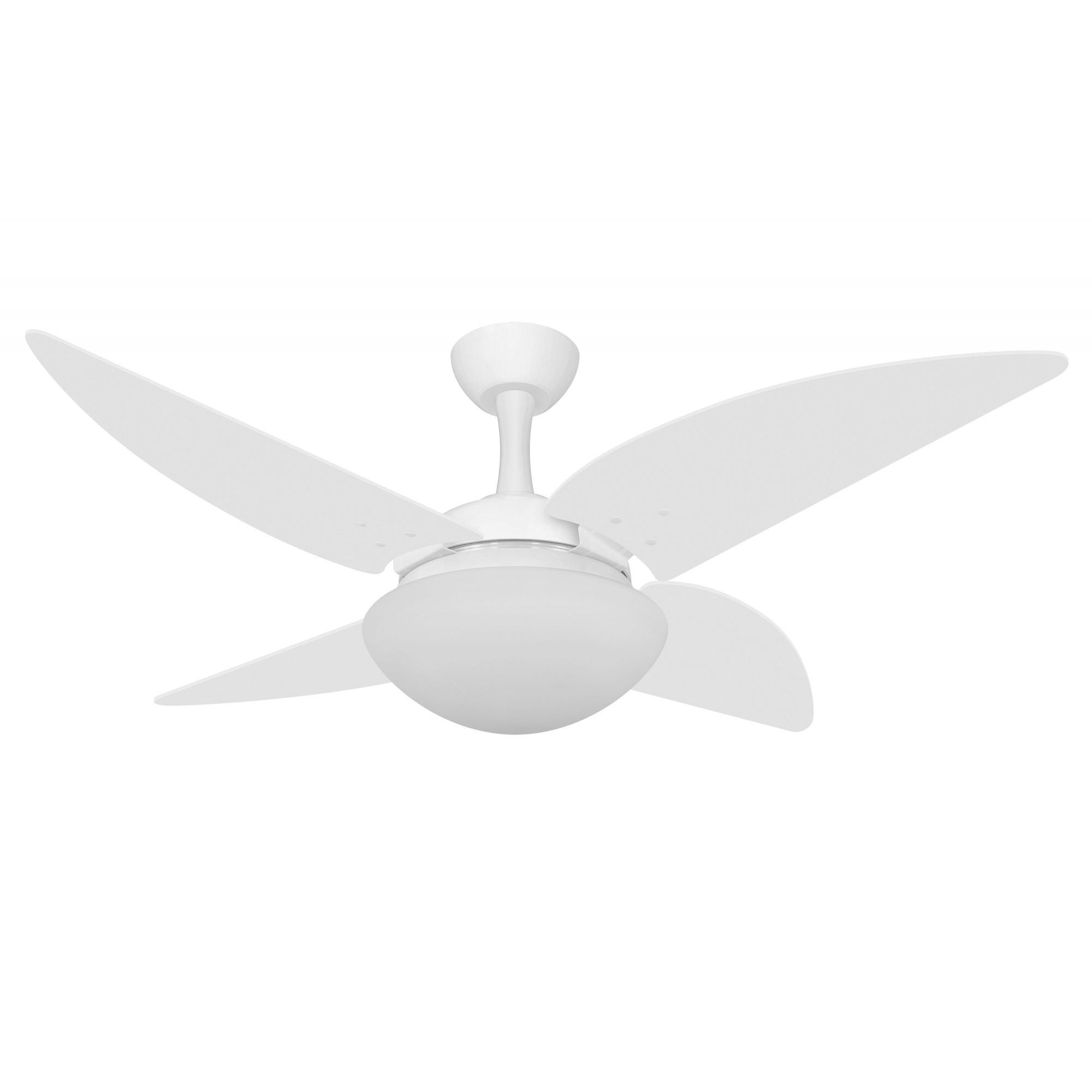 Ventilador de Teto Ventax Due Branco 4 Pás de Plastico 220V