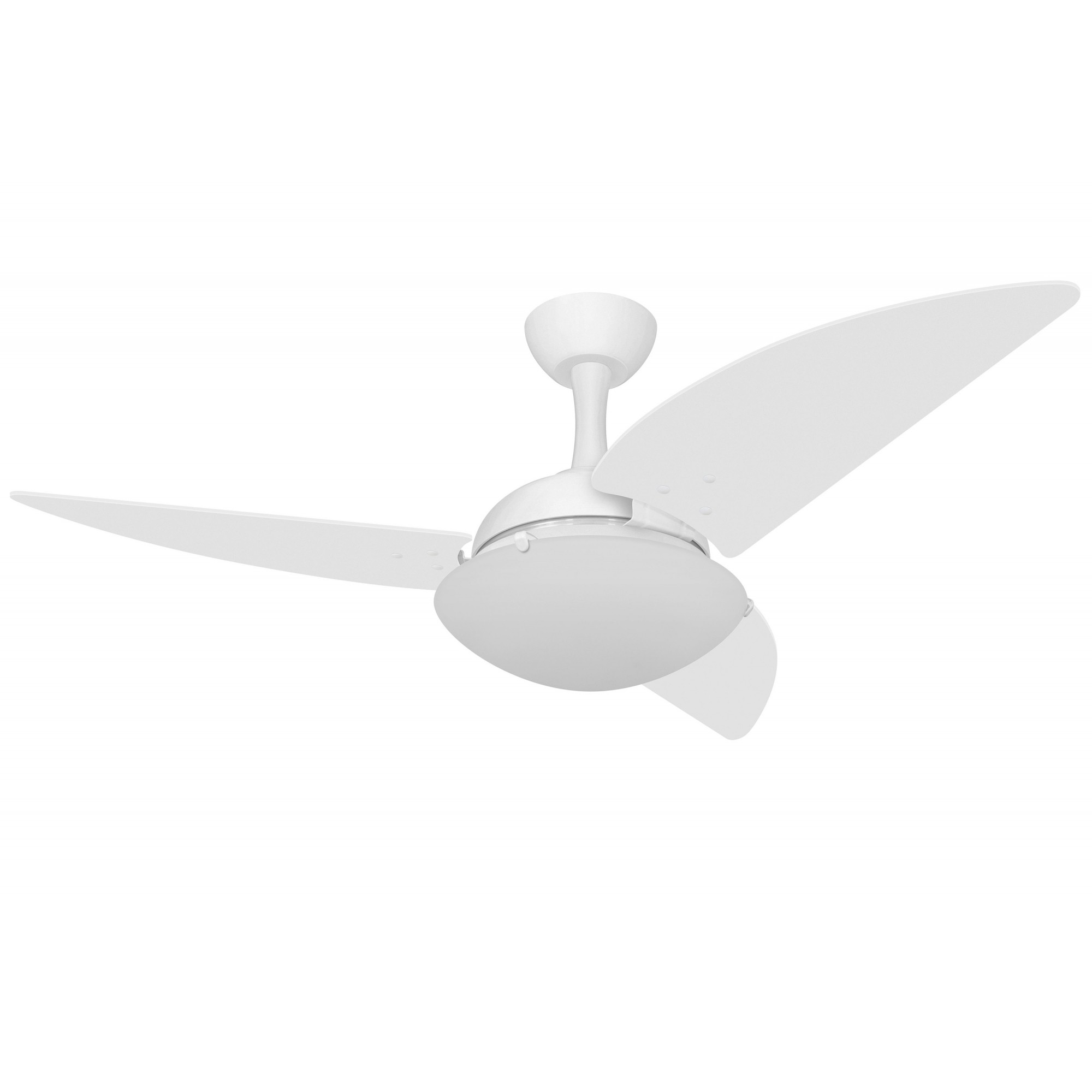 Ventilador de Teto Ventax Uno Branco 220V 130W + Controle R.