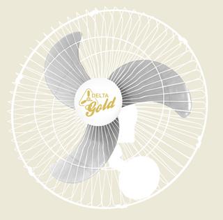 Ventilador Gold Oscilante de Parede 60 cm Bivolt 200 W