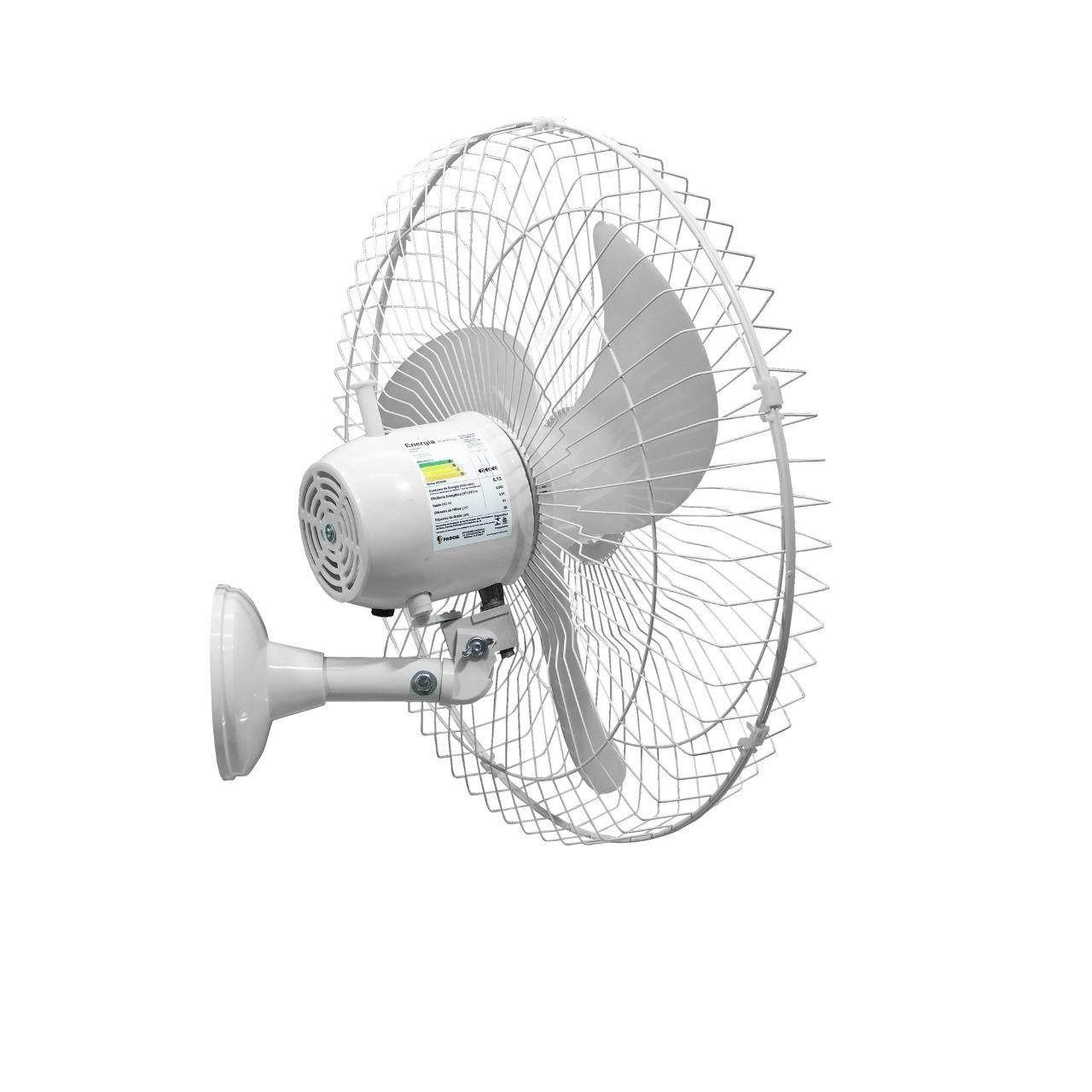 Ventilador Oscilante de Parede Tex6 Preto Bivolt 60 cm 210 W
