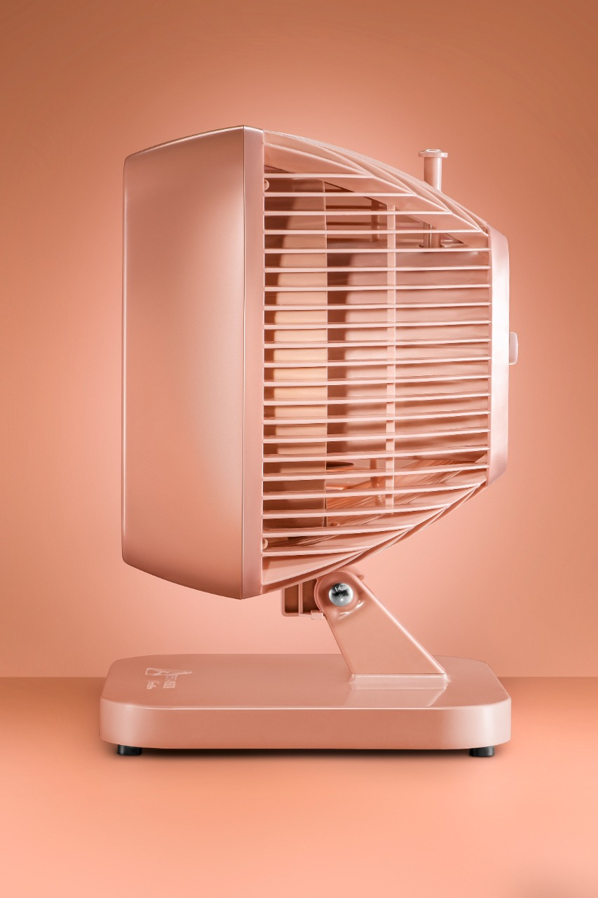 Ventilador Oscilante Turbi Venti Delta Nude 127v