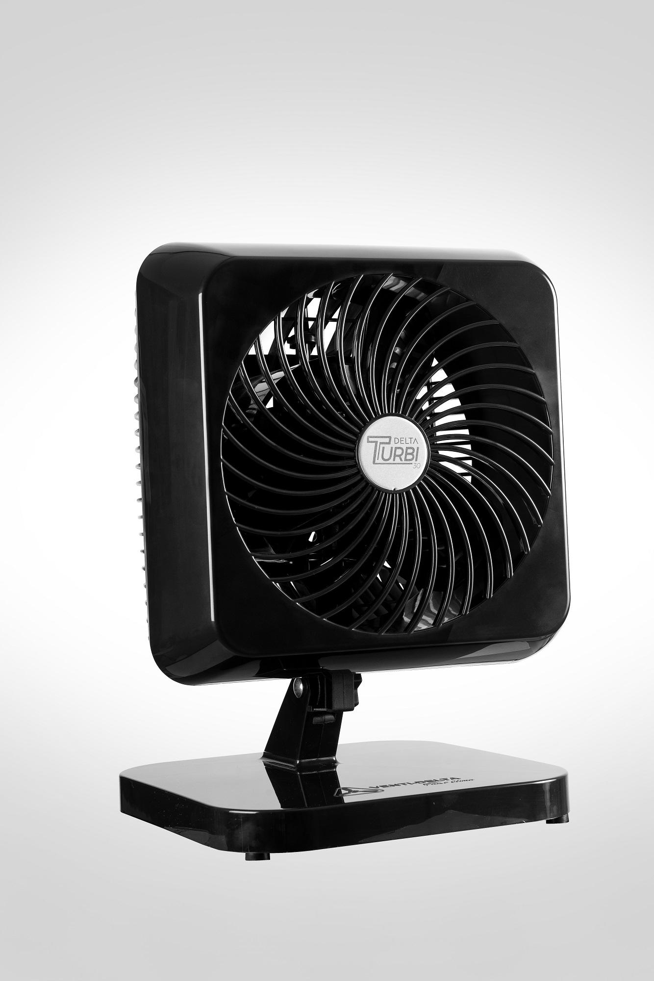 Ventilador Oscilante Turbi Venti Delta Preto  127v