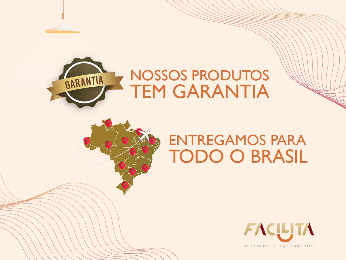 Ventilador De Parede Premium 50 cm Aço Preto Cromado 170 W