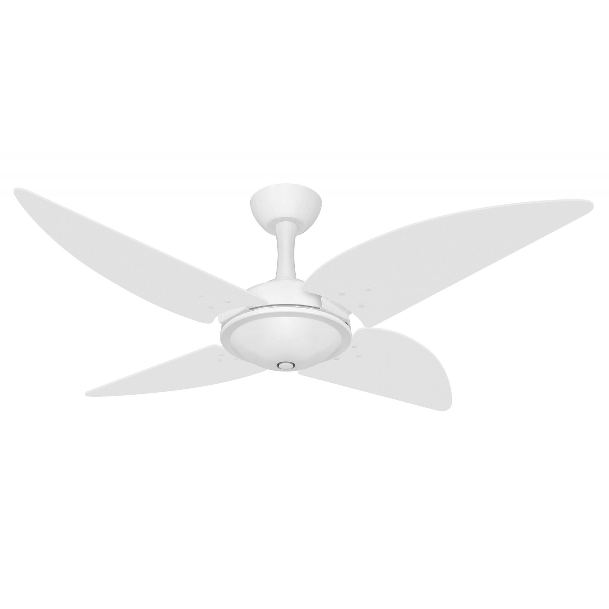 Ventilador Teto Ventax Office Branco 4Pás 220V+Controle Rem.