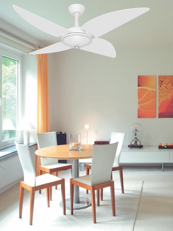 Ventilador Teto Ventax Office Branco 4Pás de Plastico 220V