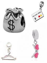 Berloque: Cabide, Saco de dinheiro, Cartão de crédito ou Óculos