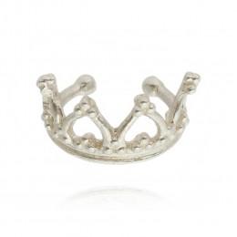 Piercing fake coroa conch/hélix Prata 925