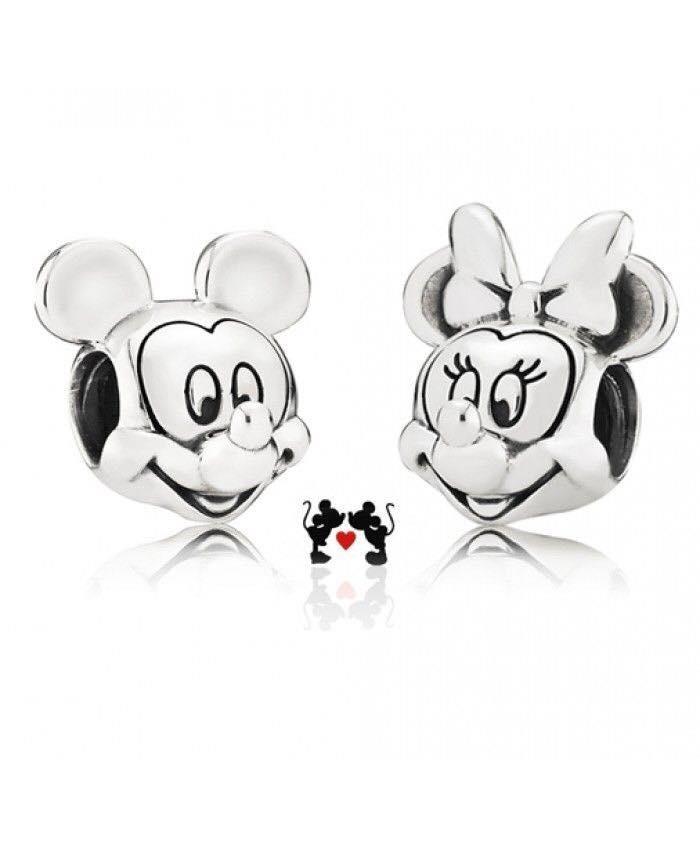 Berloque: Mickey ou Minnie