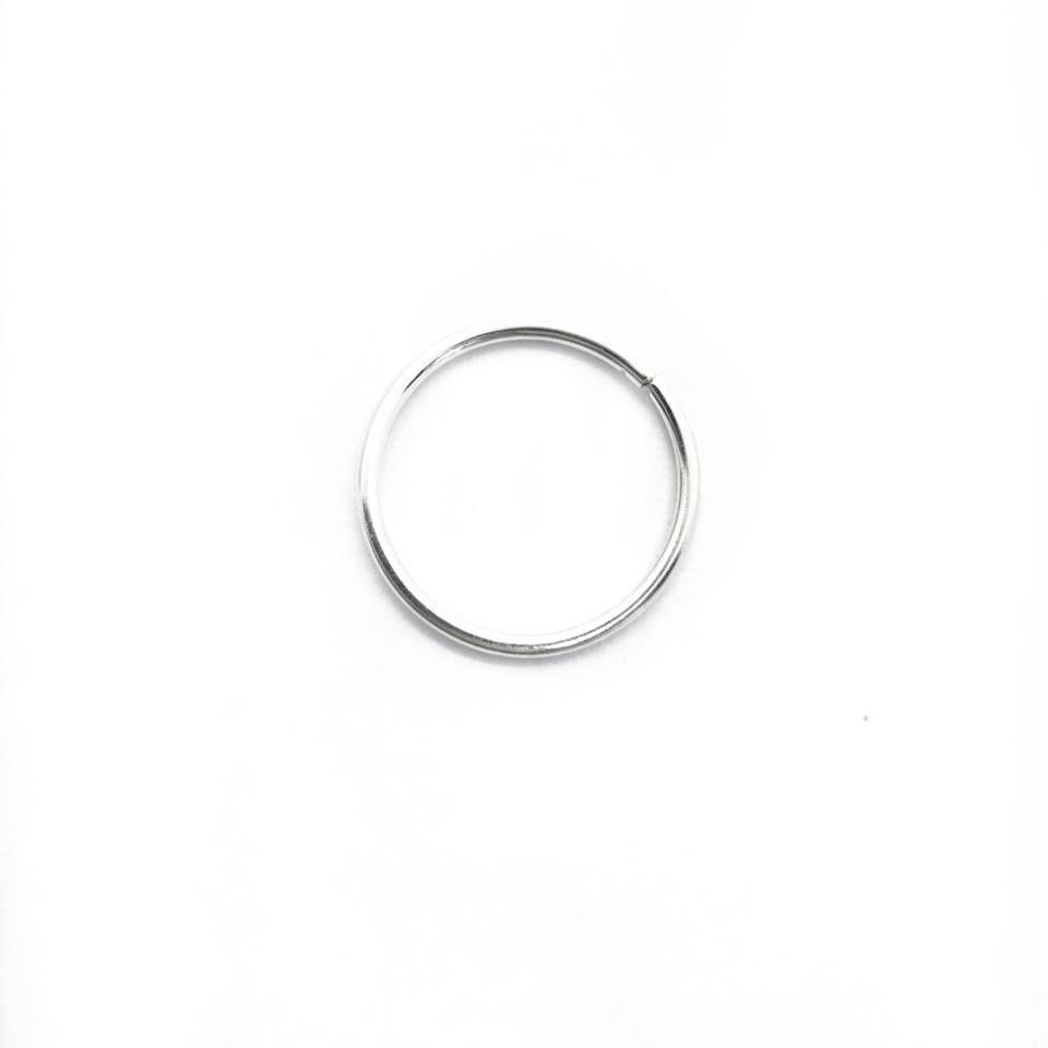 Piercing argolinha nostril Prata 925 - ver tamanhos