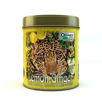 CHÁ LEMMON GINGER- LATA - TRIBAL