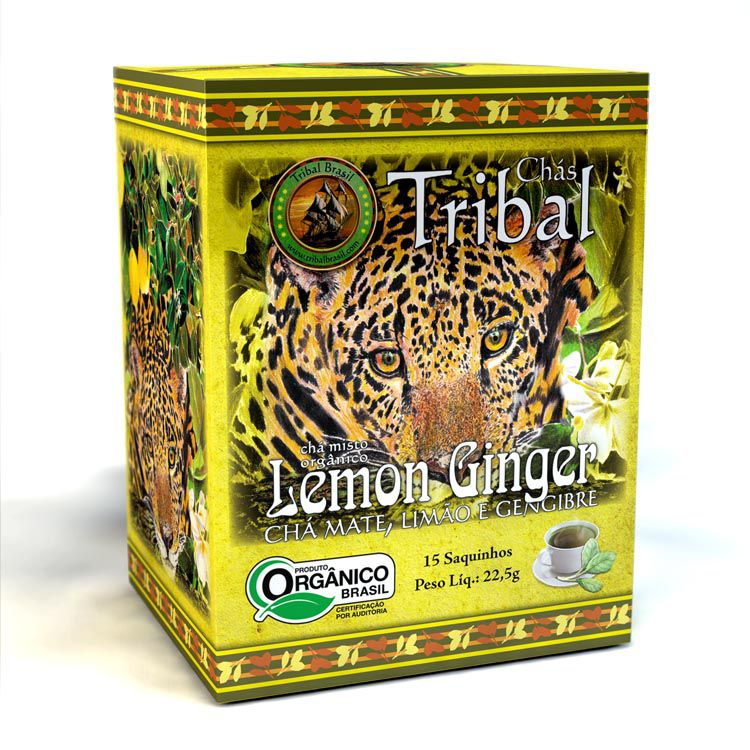 CHÁ LEMMON GINGER - TRIBAL