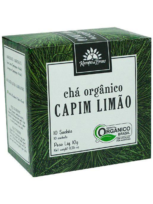 CHA SACHE CAPIM LIMÃO 10GR - KAMPO DE ERVAS