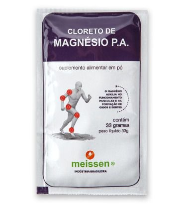 CLORETO MAGNÉSIO SACHE MEISSEN 33G