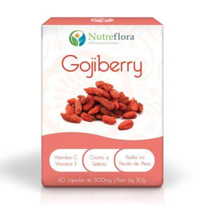 GOJI BERRY 60 CAPS NUTREFLORA