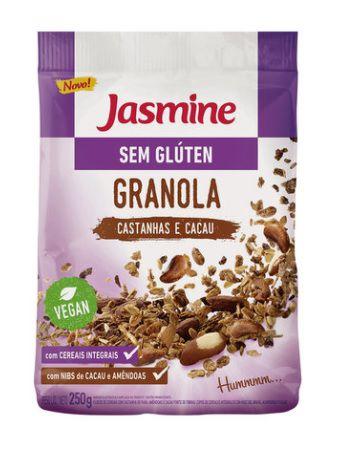 GRANOLA S/GLÚTEN CASTANHA/CACAU JASMINE