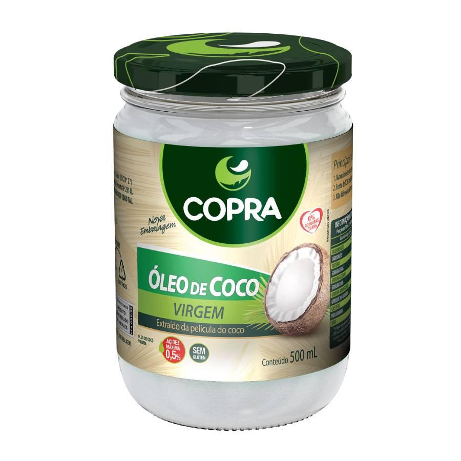 OLEO DE COCO VIRGEM 500ML - COPRA