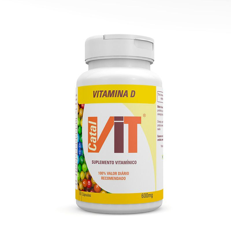 VITAMINA D3 90 CAPS - CATALVIT