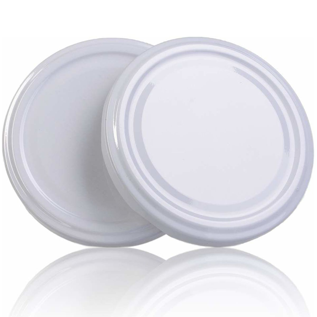24 Potes De Vidro Sextavado 170 Ml C0m Tampa Branca + Lacre  - EMPÓRIO PACK
