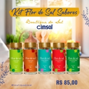 Kit Flor de sal Sabores