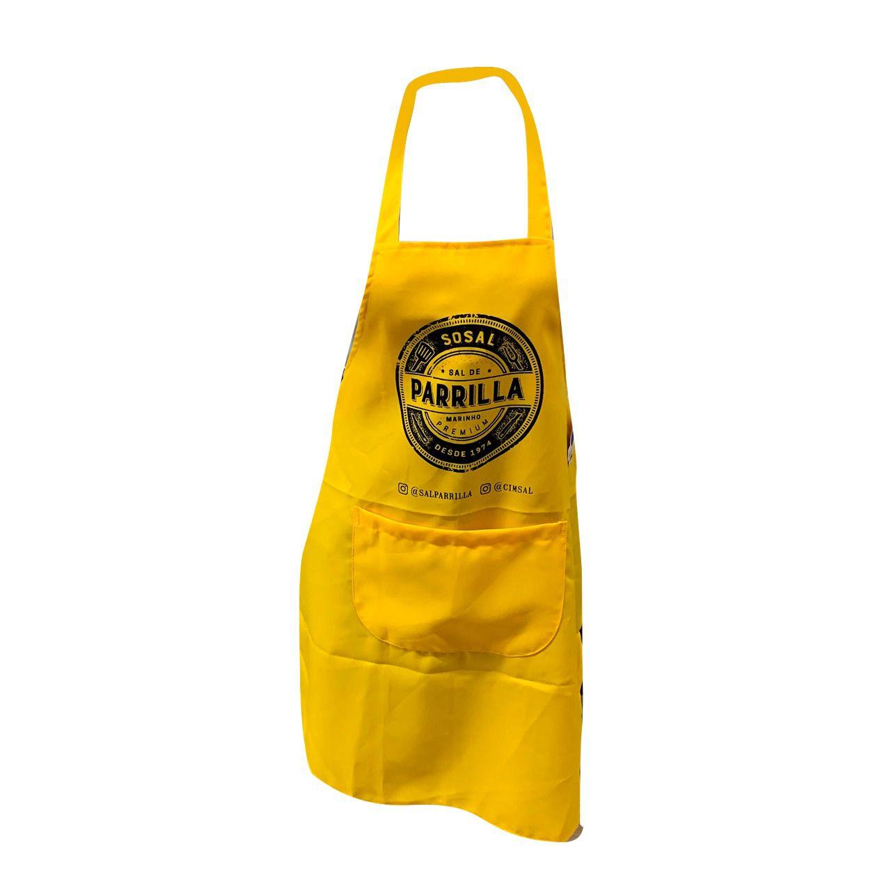 Avental Sal de Parrilla Amarelo