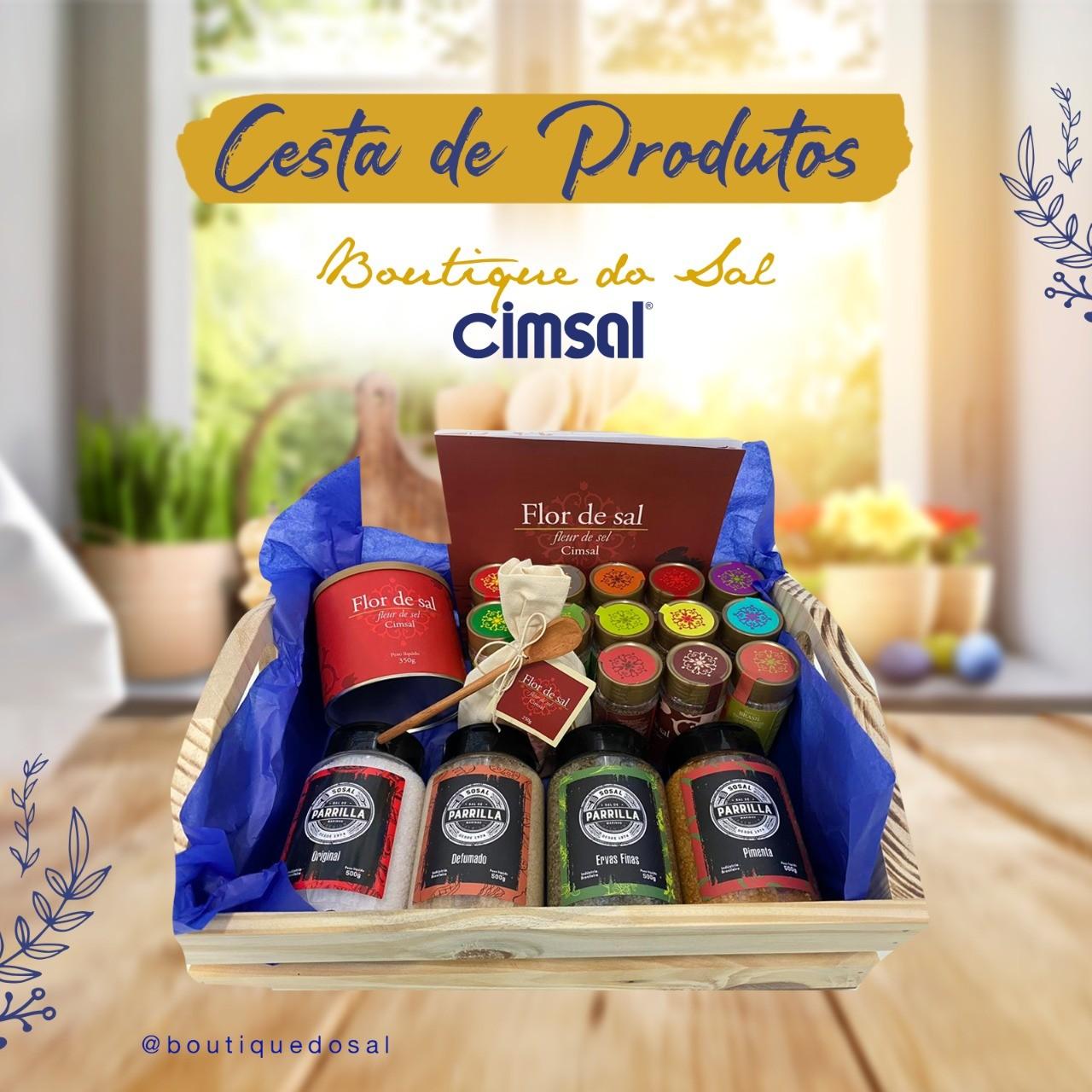 Cesta de Produtos CIMSAL