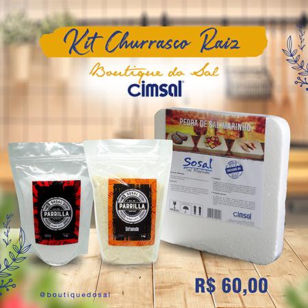 Kit Churrasco Raiz