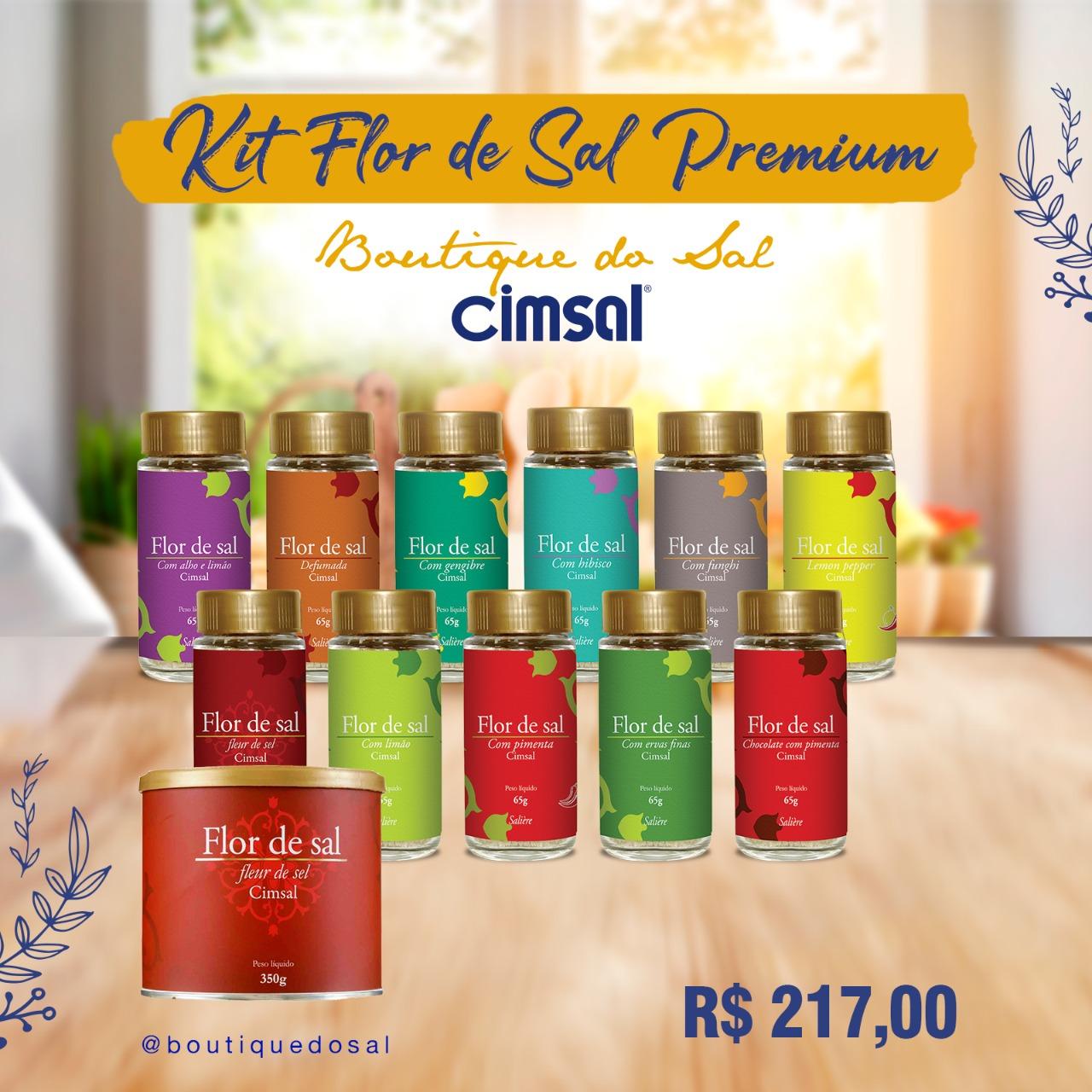 Kit Flor de Sal Premium