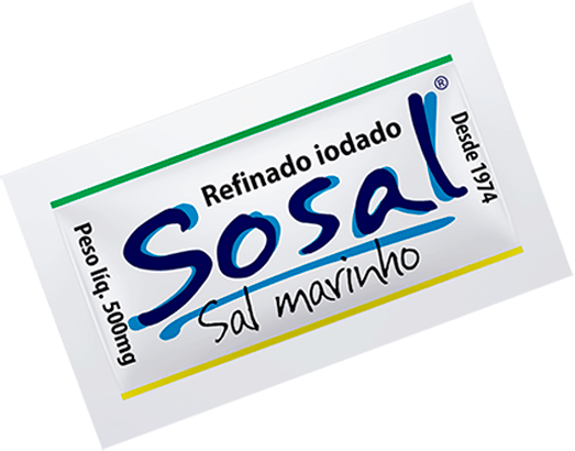 Sachê de Sosal Marinho Refinado 2000x500mg