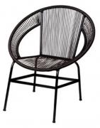 A Cadeira em Aço e PVC Cancun