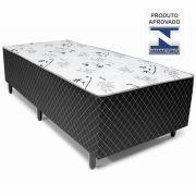 Cama Box Conjugado Solteiro Espuma e Estrutura Ortopédica 40X88X188