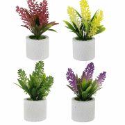 conjunto 4 Vasos de Plantas