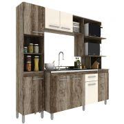 Cozinha compacta 8 portas - Isis