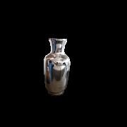 Vaso Prateado Espelhado 30 x 13cm