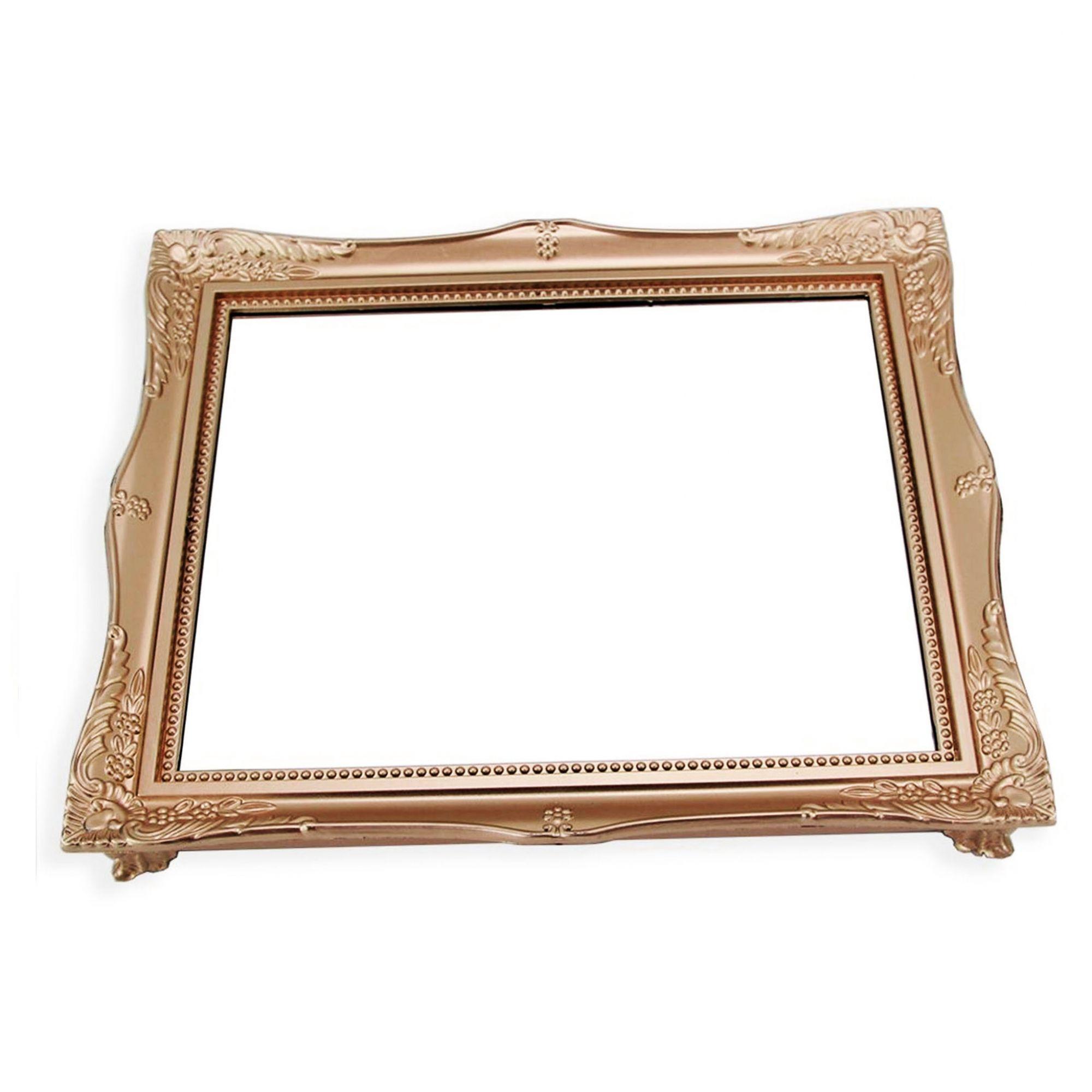 Bandeja Com Espelho 30X25Cm