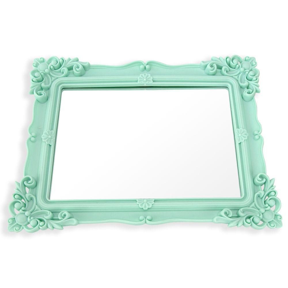 Bandeja Retangular Com Espelho