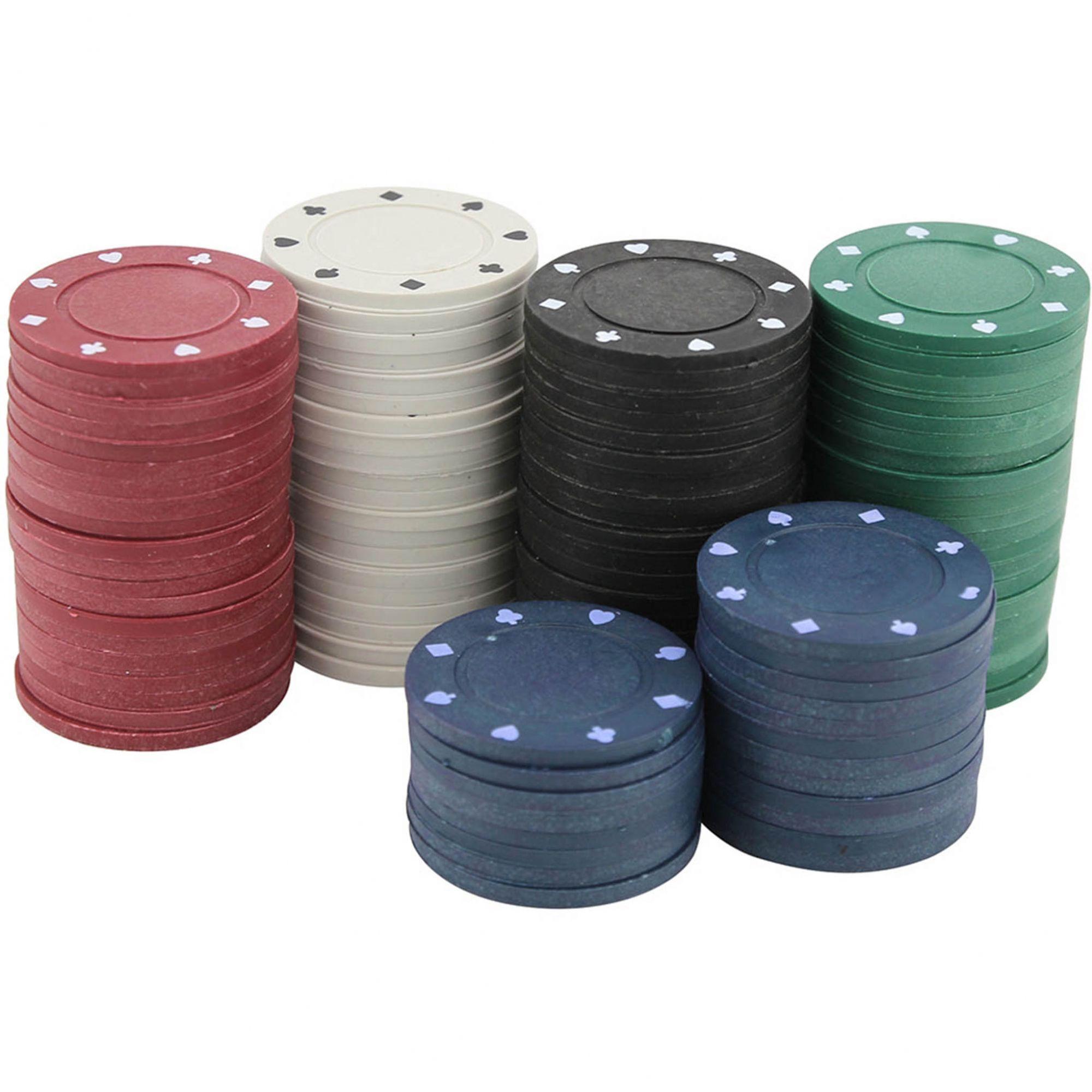 Fichas de Plástico P/ Poker