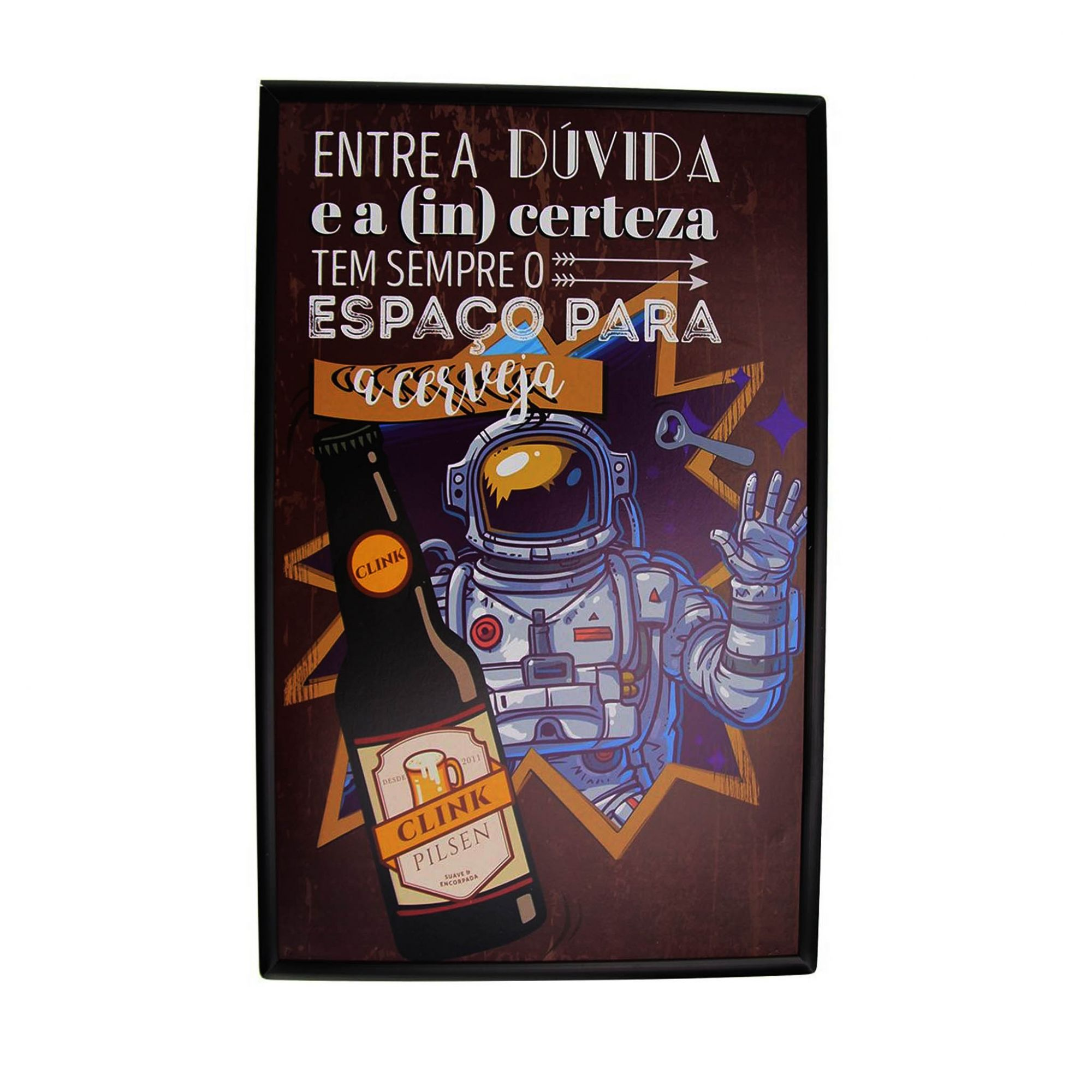 PLACA DECORATIVA MDF 20X30CM 1UN
