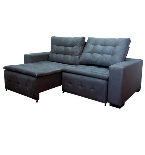 Sofá Retrátil  e reclinável Alice