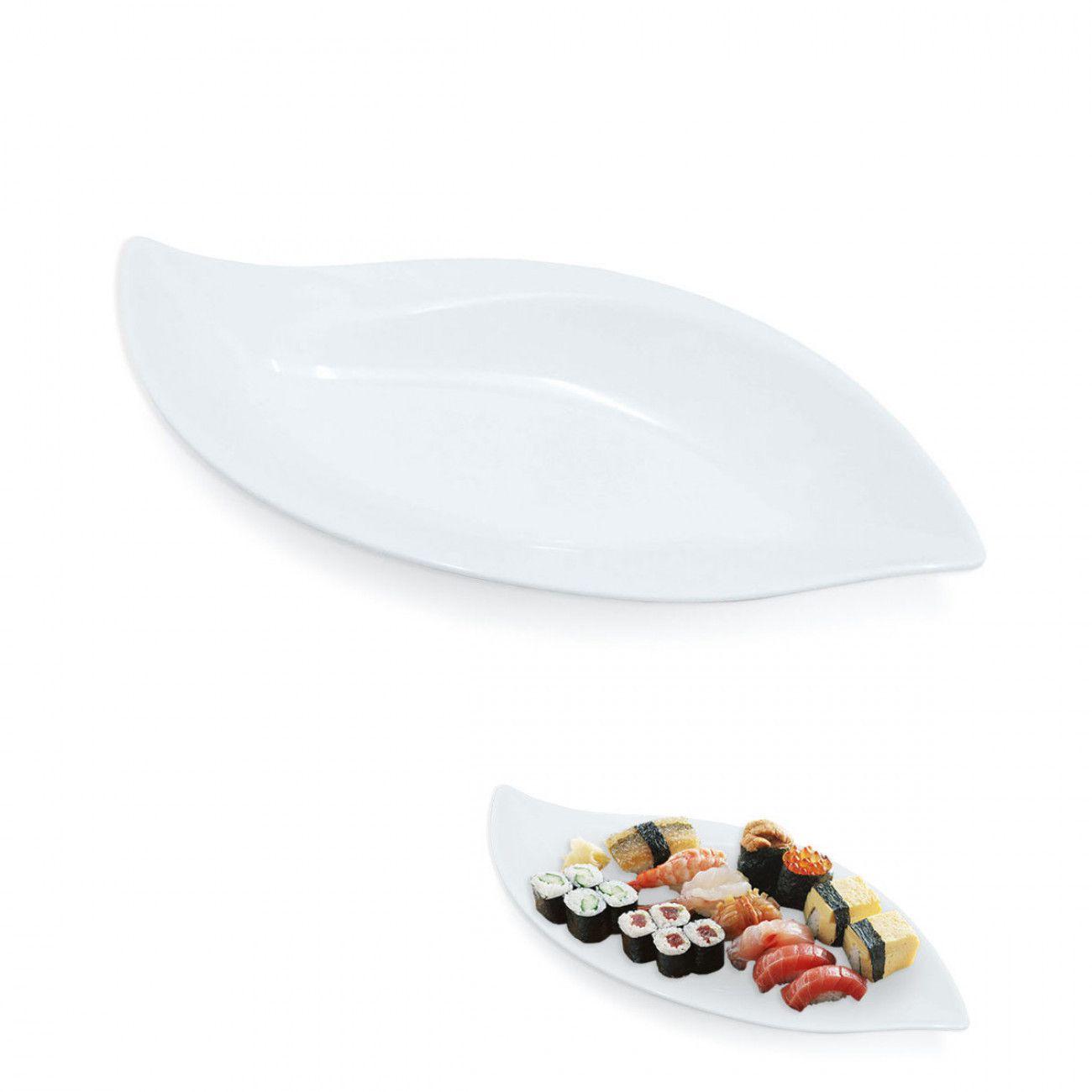 Travessa Folha Melamina Premium Japonesa Buffet