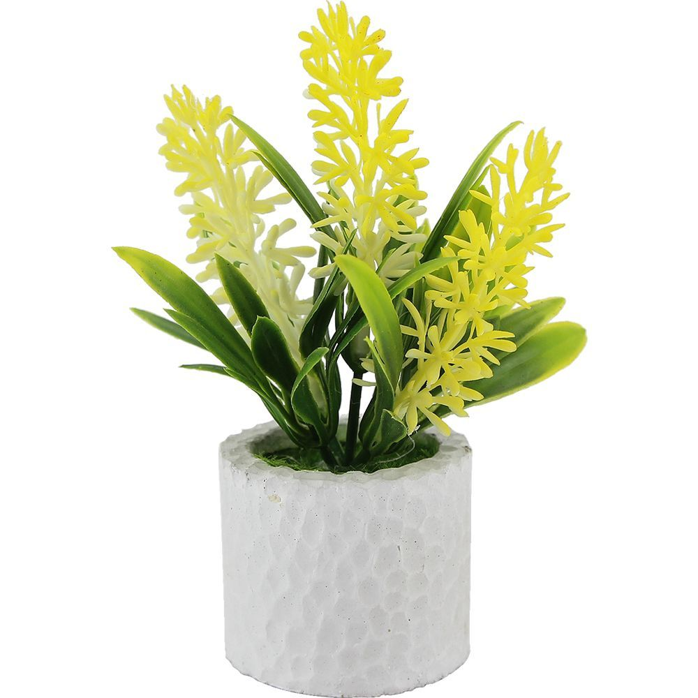 Vaso com Planta Artificial   - Modia