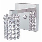 Arandela de Cristal Legitimo Quarto Sala Escada Corredor Lavabo Espelho Painel Cabeceira De Cama AR813