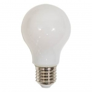 Lâmpada Led Bulbo Milky A60 4w E27 Bivolt Para Plafon Lustre Luminária